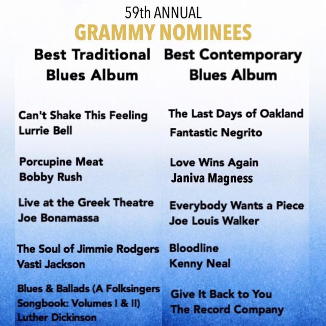Congratulations to the GrammyAwards nominees for Best Traditional amp Besthellip