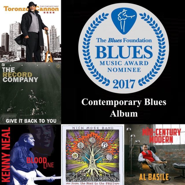 Congratulations to the 2017 Contemporary Blues Album of the Yearhellip