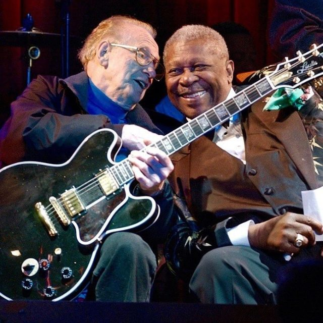 Happy birthday in guitar player heaven to Mr Les Paul!