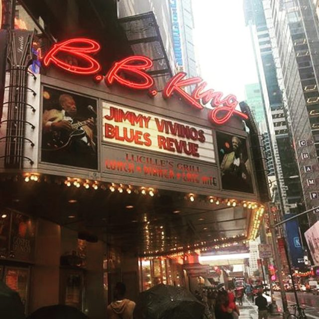 TONIGHT NYC blues fans sold out BB Kings for Jimmyhellip
