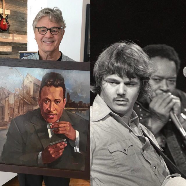 Steve Miller bought this painting of his old friend Jameshellip