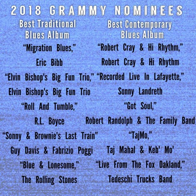 Congratulations to the 2018 GRAMMY NOMINEES for Best Traditional amphellip