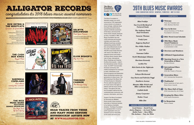 bma event program blues foundation
