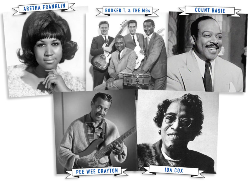 a94a4eb97b THE QUEEN OF SOUL, THE COUNT, AND THE UNCROWNED QUEEN OF THE BLUES ...
