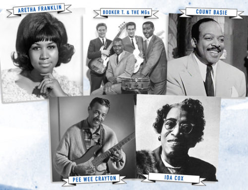 THE QUEEN OF SOUL, THE COUNT, AND THE UNCROWNED QUEEN OF THE BLUES ARE AMONG THE MUSIC ROYALTY BEING WELCOMED INTO THE BLUES HALL OF FAME ON MAY 8